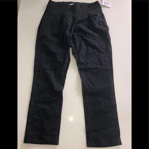 Pip & vine Rosie pope maternity crop pants m new